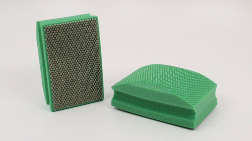 60 Grit Diamond Hand Pad - Green