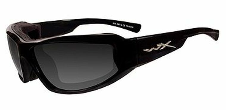 Wiley X Jake Grey Lens/Black Gloss frame