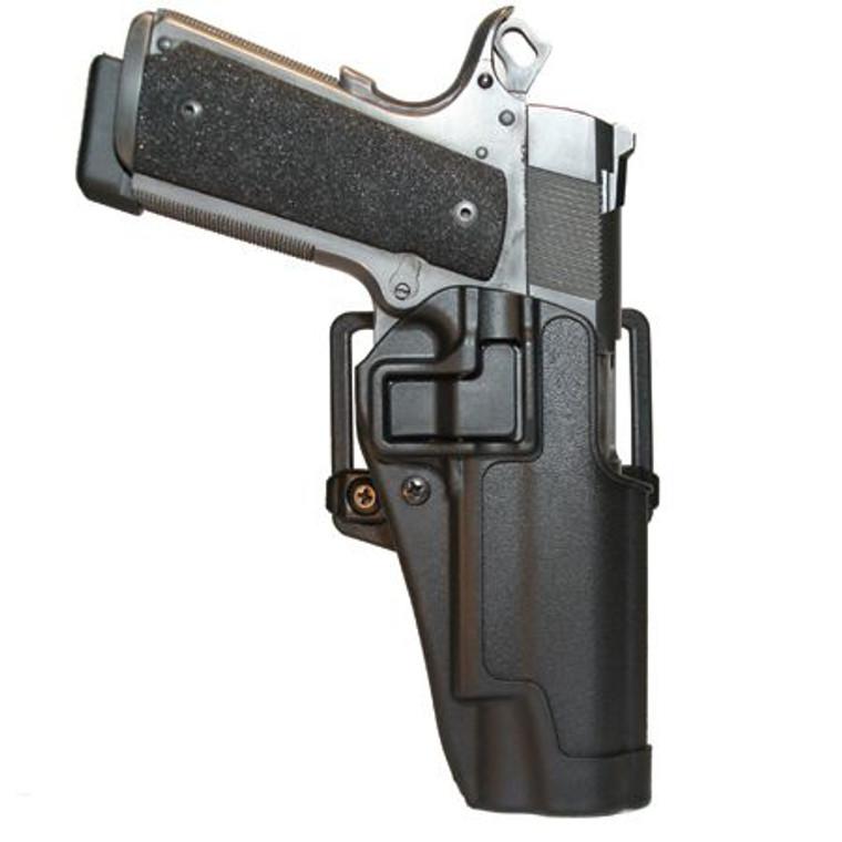 BlackHawk SERPA CQC Left S&W M&P .45, Glock 21, 20 Matte Finish 410513BK-L