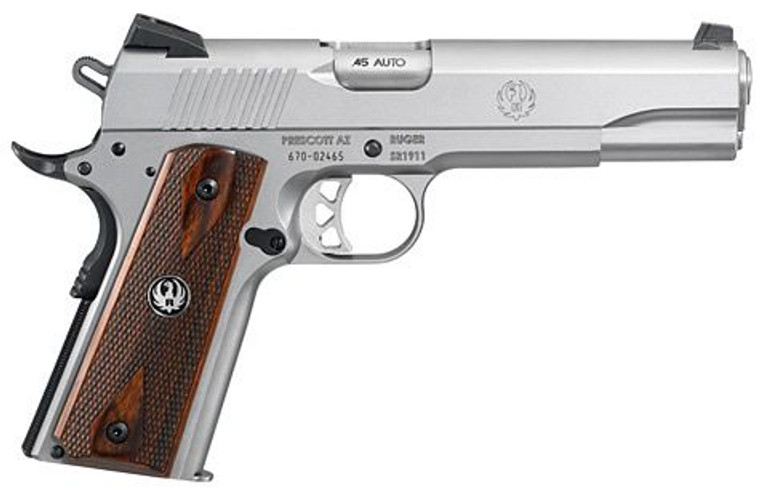 Ruger SR1911 Low-Glare Stainless (06700)