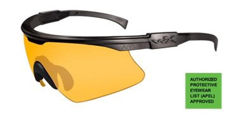 Wiley X PT-1 Rust Lens/Matte Black Frame