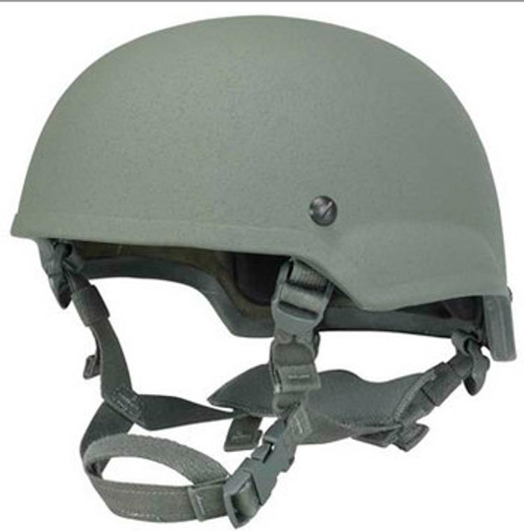 Gunfighter ACH Mid-Cut Ballistic Helmet Level IIIA (BLACK, SM)