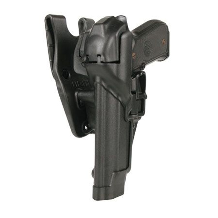 BlackHawk Level 3 SERPA Auto Lock Duty Holster Left Plain Glock 17, 19, 20, 21, 22 23, 31, 32