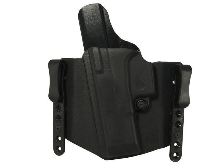 "Clyde Armory Comp-Tac Flatline Glock 26/27/28/33 Holster, 1.5"", IWB Standard Clip"