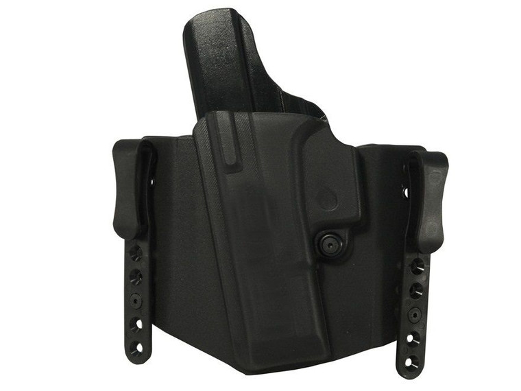"Clyde Armory Comp-Tac Flatline Shield Holster, 1.5"", IWB Standard Clip"