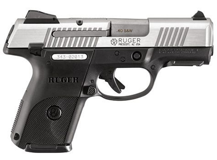 Ruger SR40C .40 Stainless Compact (03476)