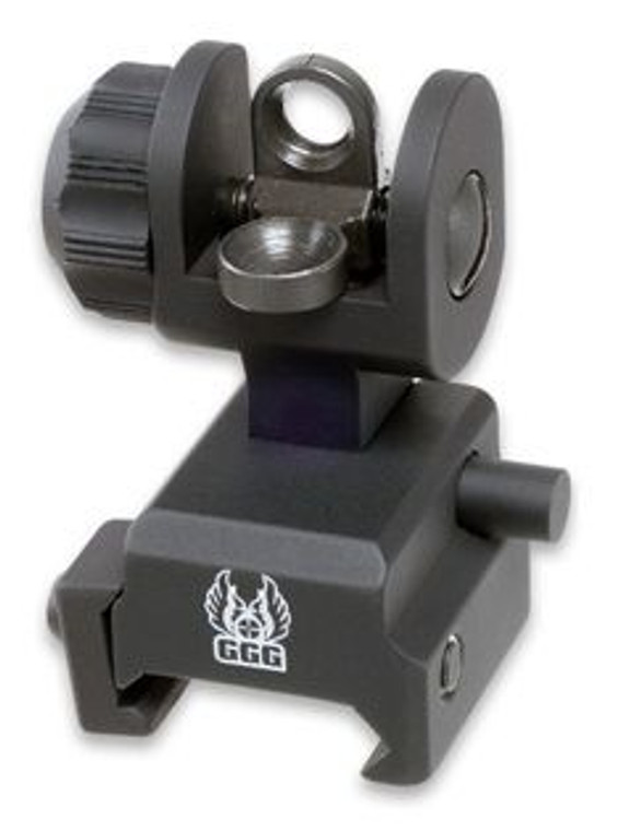 Clyde Armory GG&G Re-Designed Spring Actuated A2 Back Up Iron Sight (BUIS)