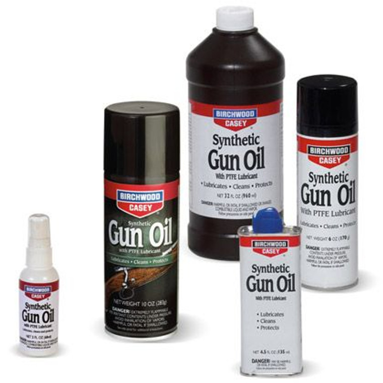 Synthetic Gun Oil With PTFE Lubricant