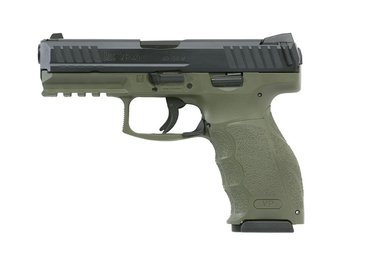 Heckler & Koch VP40 OD Green LE Package (700040GRLE-A5)