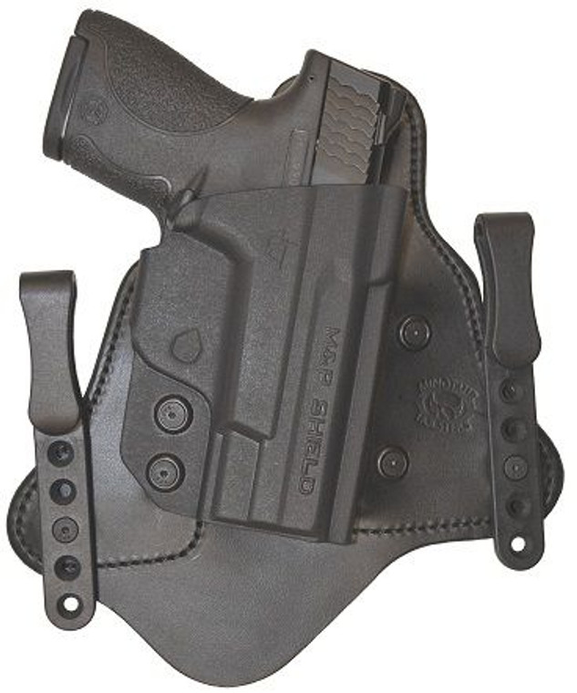 Clyde Armory CompTac MTAC S&W M&P Shield RSC Chestnut Holster