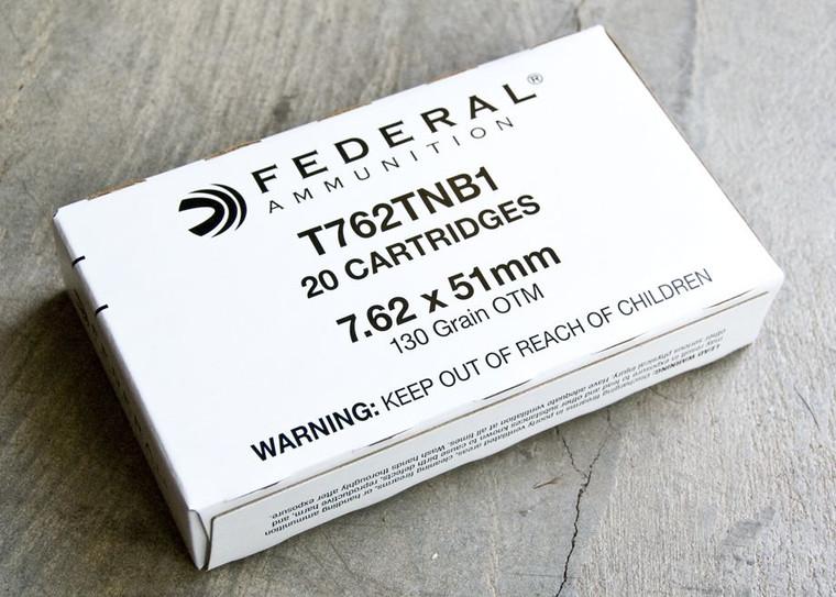Federal 7.62x51 130gr (T762TNB1)