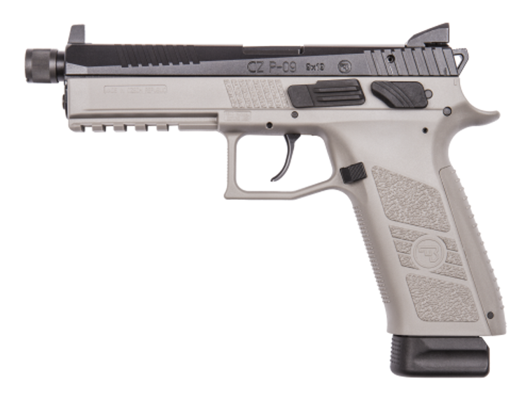 CZ SP-09 Tactical Urban Grey Suppressor-Ready (91269 LE ONLY)