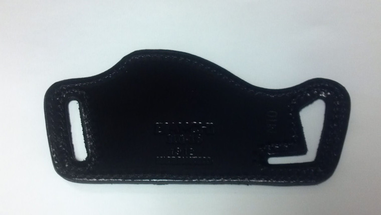 Clyde_Armory_Bianchi_Model_101_Foldaway_Holster_Size_16_Plain_Black_Right_Hand