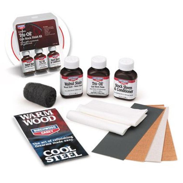 Complete Tru-Oil® Gun Stock Finish Kit