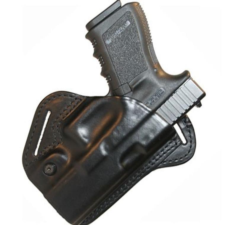 BlackHawk Check-Six Leather Concealment Holster Left Glock 26, 27, 33