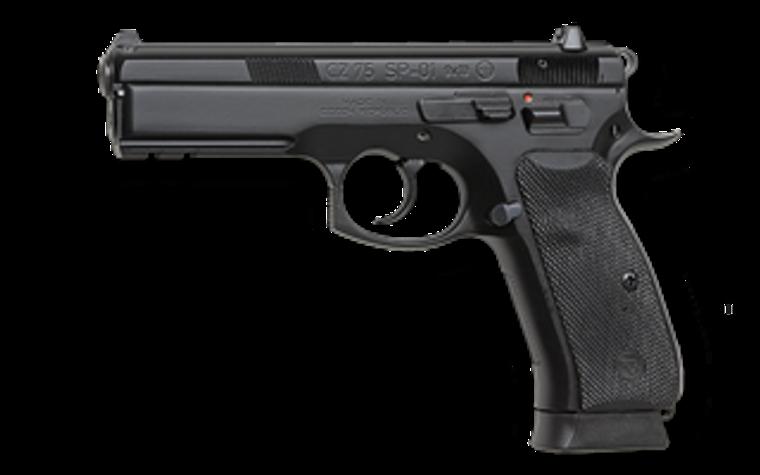 CZ 75 SP-01 9mm (91152 LE ONLY)