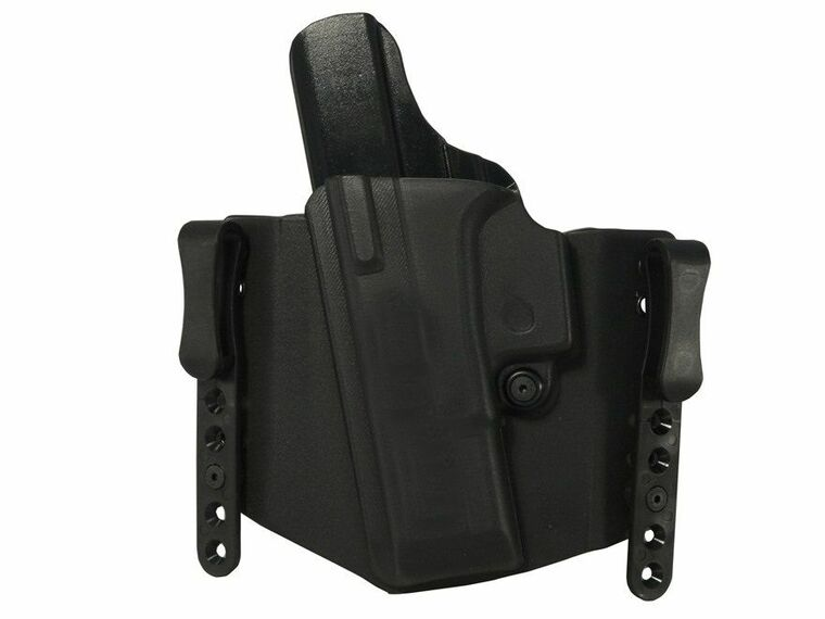 "Clyde Armory Comp-Tac Flatline Glock 9/40/357 Holster, 1.5"", IWB Standard Clip"