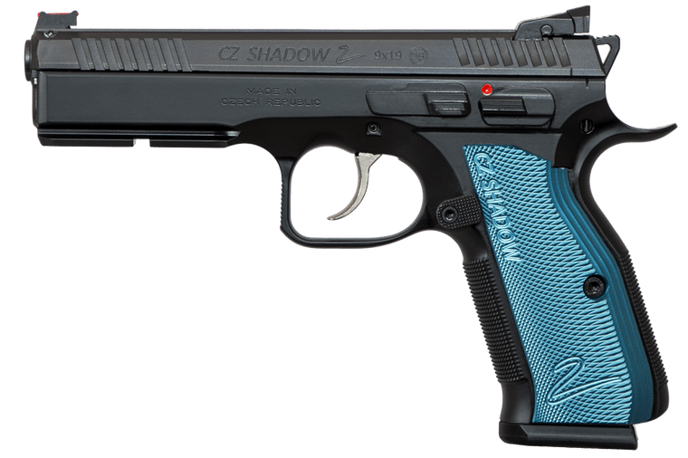 CZ Shadow 2 Black and Blue (91257 LE ONLY)