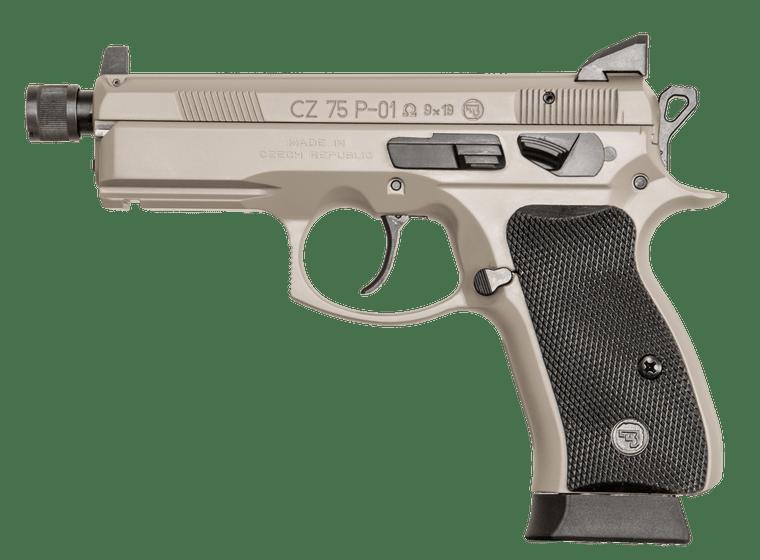 CZ P-01 Omega Urban Grey Suppressor-Ready (91299 LE ONLY)