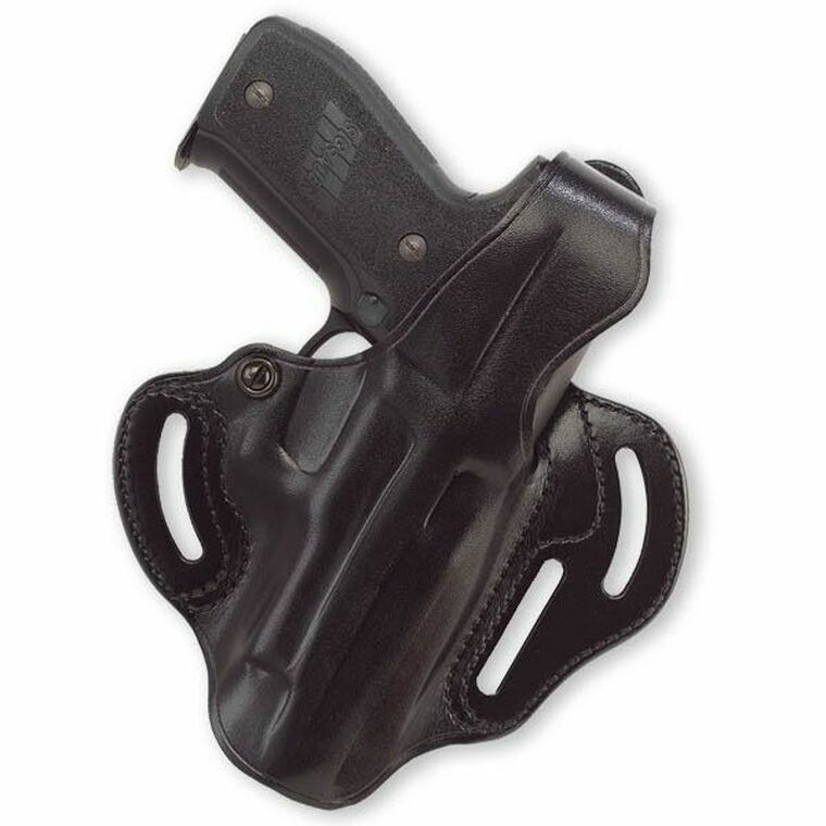 """Clyde Armory Galco Cop 3 Slot Holster Springfield XD 9/40 4"""", H&K P30"""