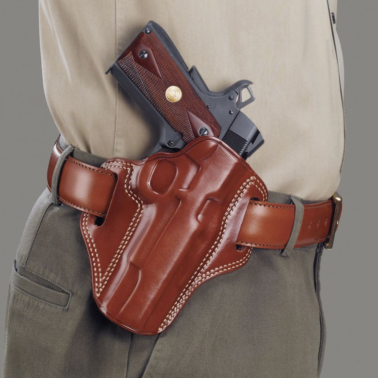 """Clyde Armory Galco Combat Master Belt Holster - Colt 3 1/2"""" 1911"""