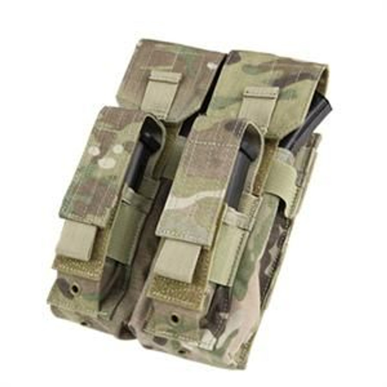 Clyde Armory MA71-008 Double AK Kangaroo Mag Pouch - MultiCam