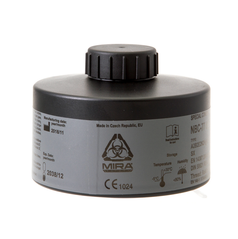 Mira Safety NBC-77 SOF 40mm Gas Mask Filter