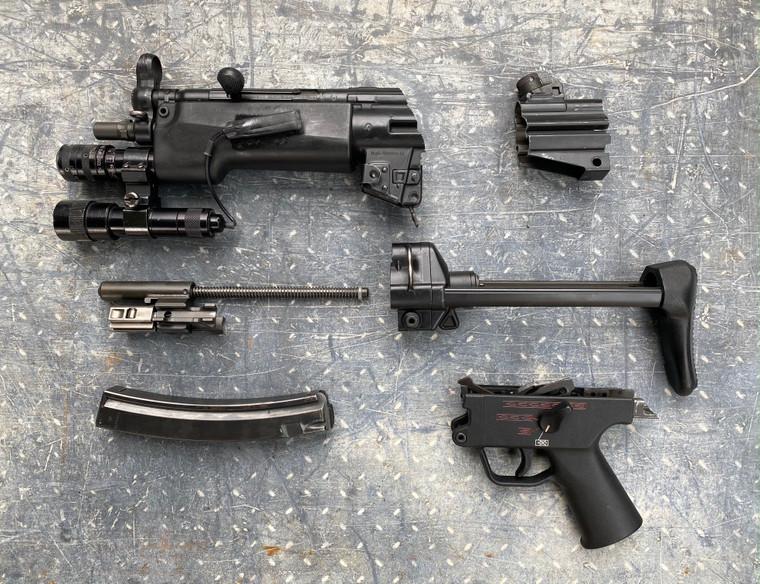 HK MP5A3 NAVY