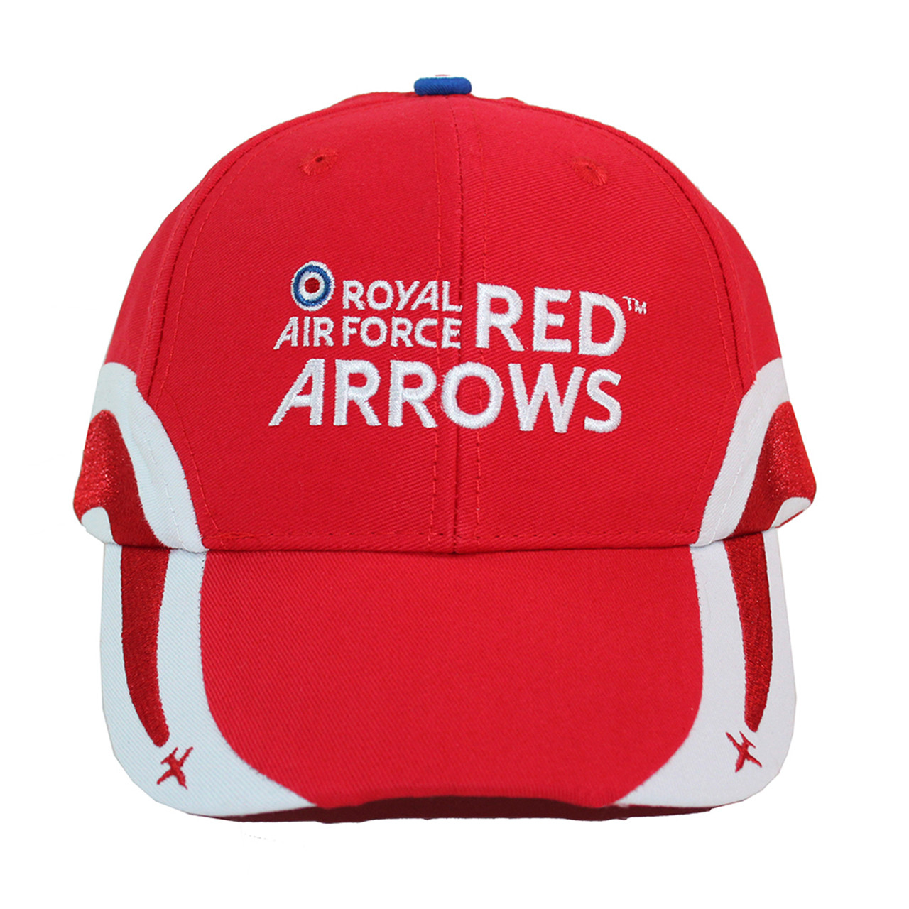 5c684aef7 Official RAF Red Arrows Embroidered Plane Cap