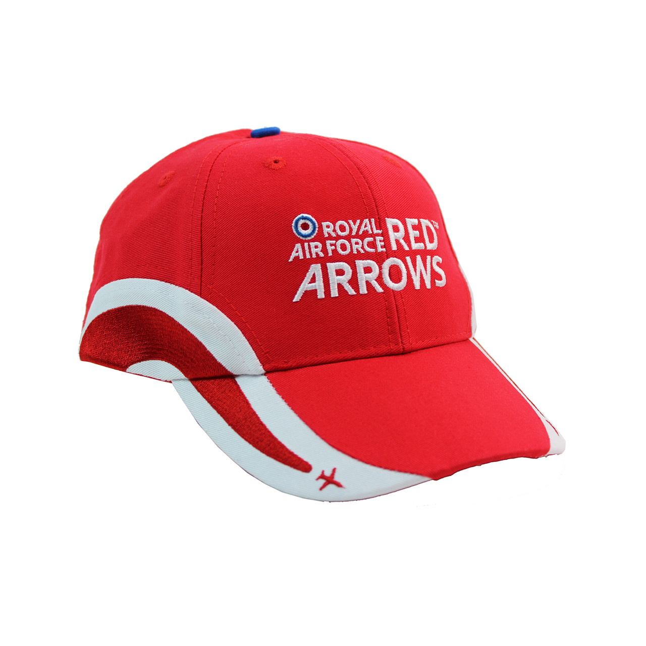 cf687c34b Official RAF Red Arrows Kids Embroidered Plane Cap