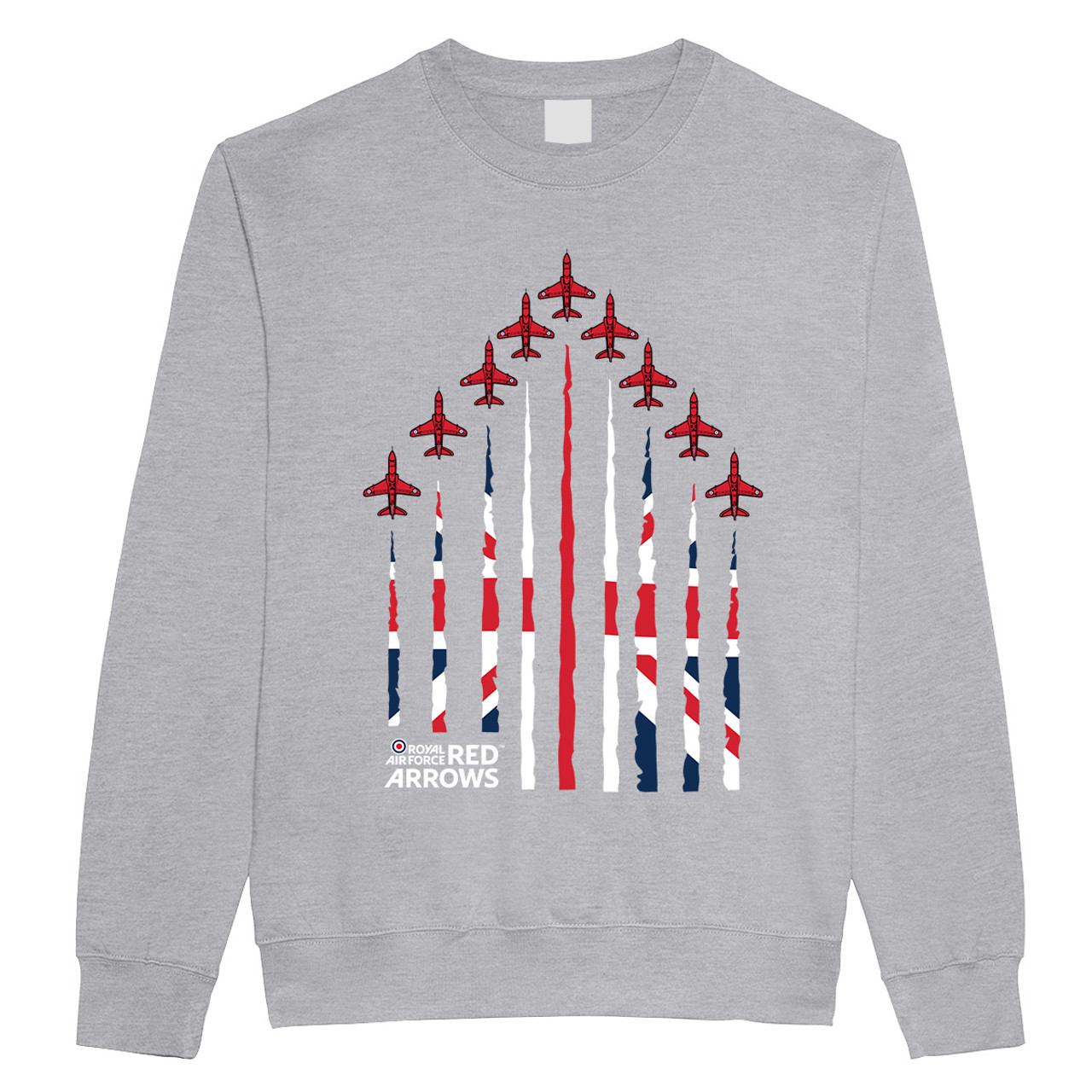 Official Red Arrows 'Union Jack Formation' Sweatshirt
