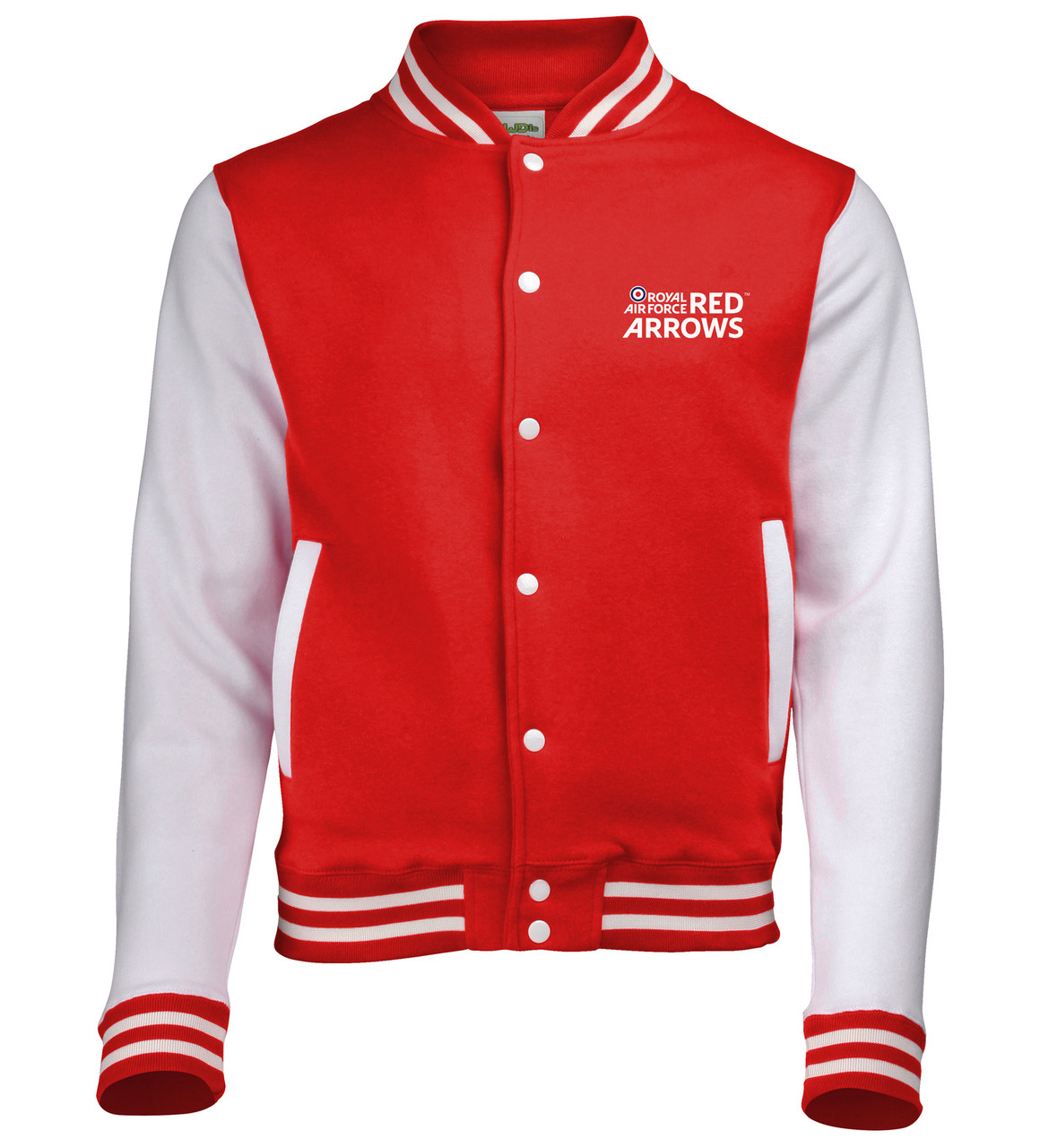 Official Red Arrows Logo Baseball Jacket