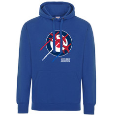 Military Online RAF Red Arrows Logo Official Royal Air Force Full Zip Heavyweight Fleece Jacket