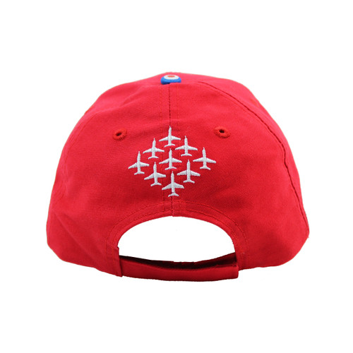 Red Arrows/™ Embroidered Diamond 9 Contrast Baseball Cap