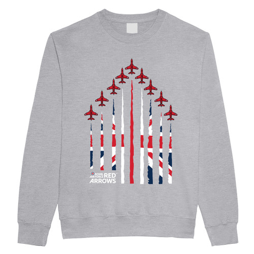 Official Red Arrows 'Union Jack - Formation' Sweatshirt