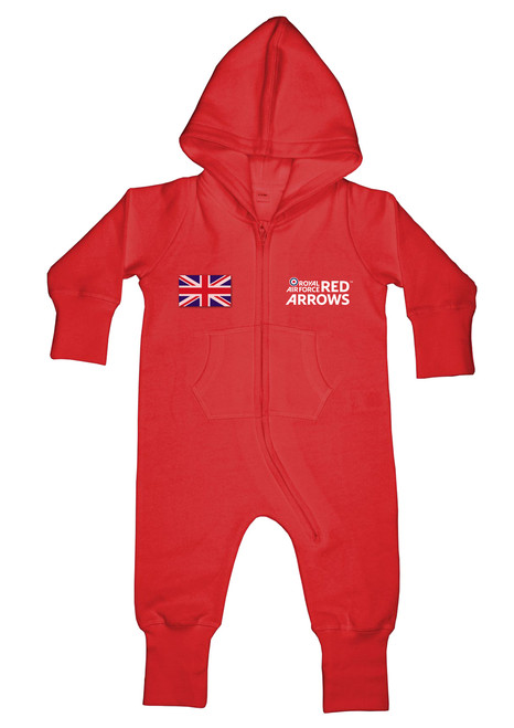 Official Red Arrows Baby Pilot 'Flight Suit' One-piece