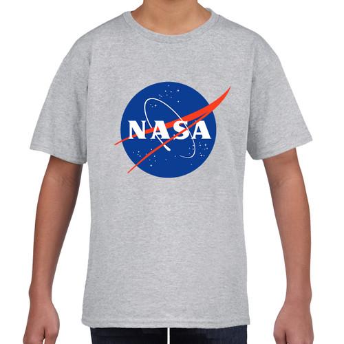 NASA Boys T-Shirt (Large Chest Logo)