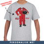 Personalised Official Red Arrows 'Future Pilot' Kids T-Shirt
