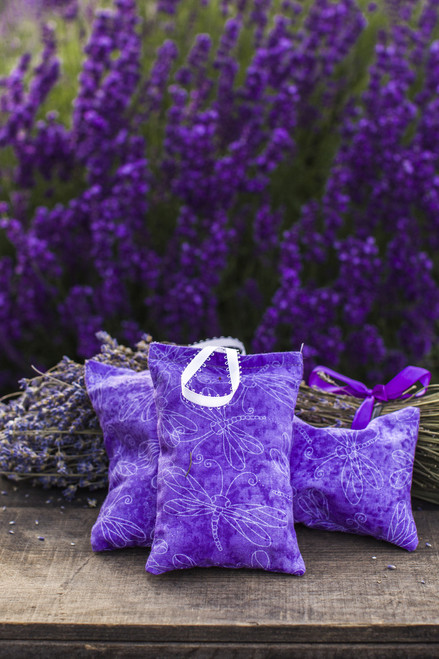 Handmade Lavender Sachet, a variety of prints available. Buy 3 or more, and save!