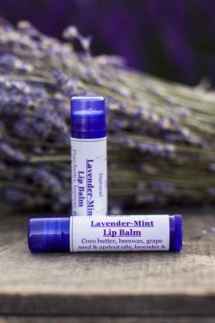 Lavender-Mint Lip Balm