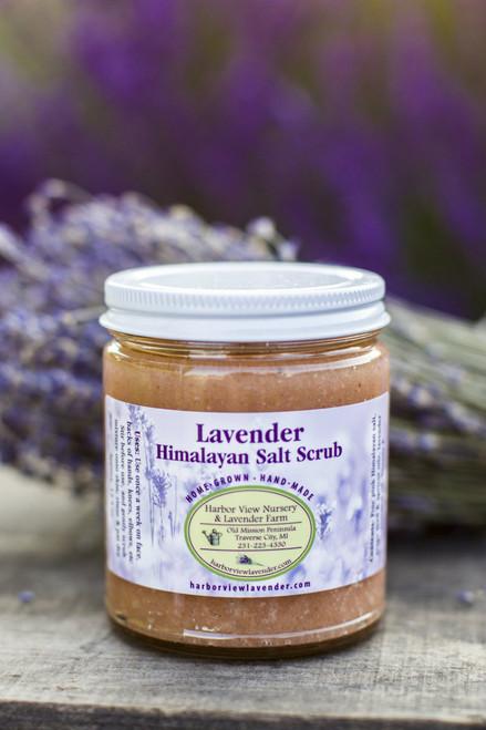 Lavender & Himalayan Salt Scrub, 12.5 Ounces