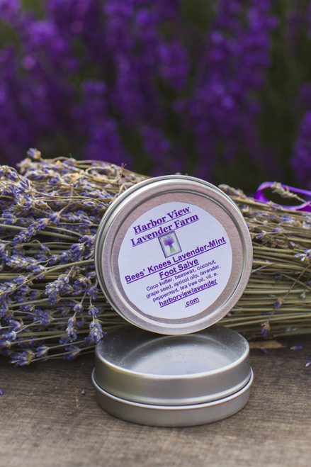 Lavender-Mint Foot Salve, 2 ounces