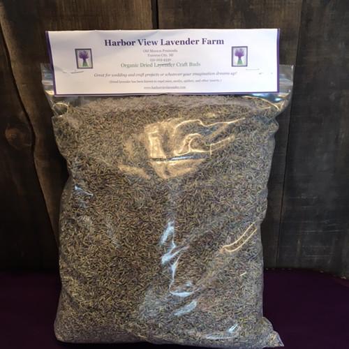 Bulk Organic Dried Lavender Buds, 1 pound