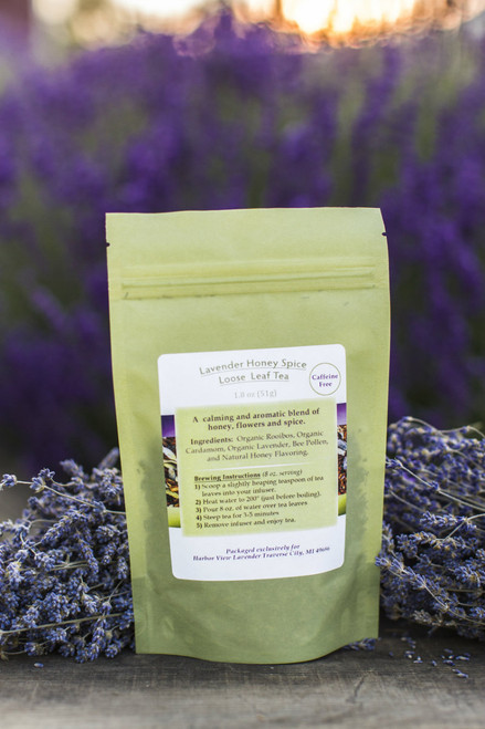 Lavender Honey Spice Loose-Leaf Tea 1.8 ounces (about 15 cups of prepared tea)