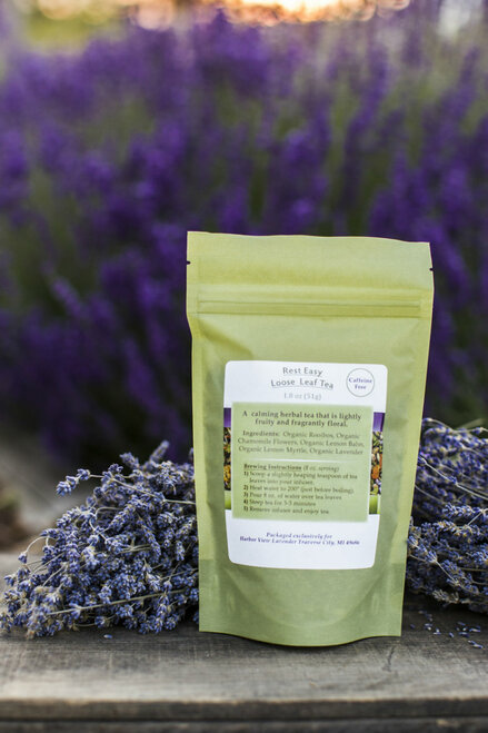 Lavender Rest Easy Loose-Leaf Tea 1.8 ounces (about 15 cups of prepared tea)