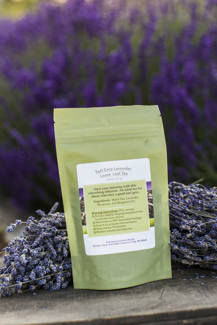 Lavender Earl Grey Loose-Leaf Tea 1.8 ounces (about 15 cups of prepared tea)