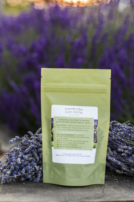 Lavender Chai Loose-Leaf Tea 1.8 ounces (about 15 cups of prepared tea)