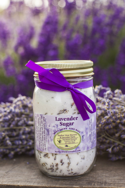 Lavender Sugar, 13 ounces