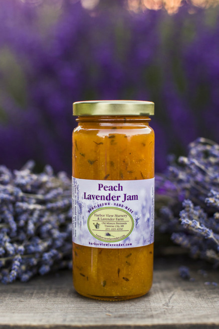 Peach Lavender jam, 10 ounces