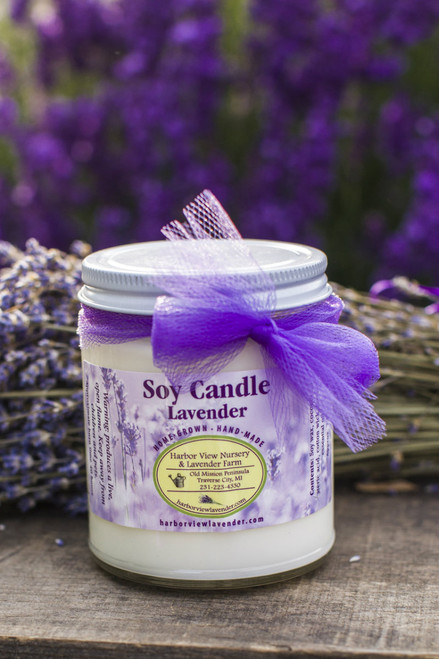 Lavender Soy Candle, 7.5 ounces